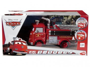 RC RED FIRE ENGINE CARS 2 1:16 DICKIE