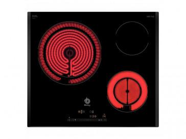 PLACA VITROCERAMICA BALAY 3EB-715LQ 60 CM 3 ZONAS DE COCCION MARCO BISELADO