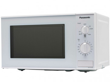 MICROONDAS LIBRE INSTALACION PANASONIC 20L 800W BLANCO CON GRILL NN-K101WMEPG
