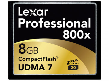 CF 8GB 800X LCF8GBCRBEU800 LEXAR