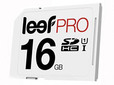 SDHC PRO 16GB CLASE 10 UHS-I LSP30001610E3U LEEF