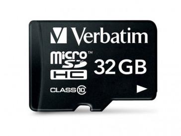 MICRO SDHC CLASE 10 32GB 44013 VERBATIM