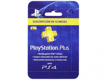 PLAYSTATION PLUS CARD 365 DIAS 9809449 SONY