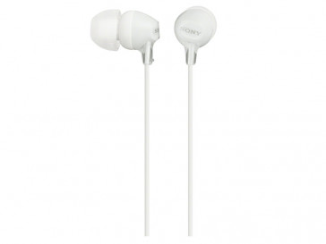 AURICULARES MDR-EX15LP (W) SONY