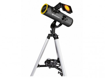 TELESCOPIO CON FILTRO SOLAR SOLARIX AZ 76/350 BRESSER