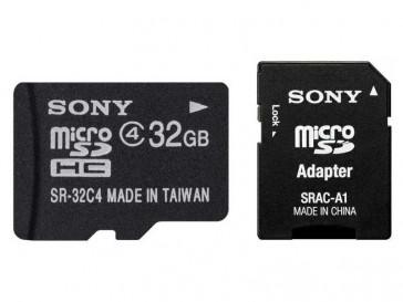 MICRO SDHC 32GB + ADAPTADOR SR32A4 SONY