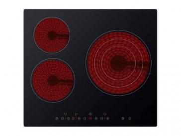 PLACA VITROCERAMICA DAEWOO KCH-631S01 59CM 3 ZONAS DE COCCION