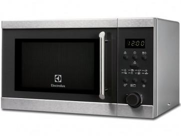MICROONDAS LIBRE INSTALACION ELECTROLUX 20L 800W ACERO CON GRILL EMS20300OX