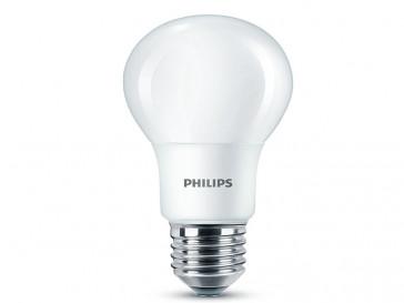 BOMBILLA LED ESFERICA E27 8W (60W) LUZ BLANCA CALIDA PHILIPS