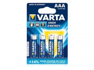 PILAS HIGH ENERGY 50X4 MICRO AAA LR03 VARTA