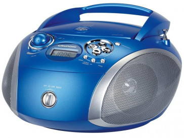 RADIO RCD1445 AZUL GRUNDIG