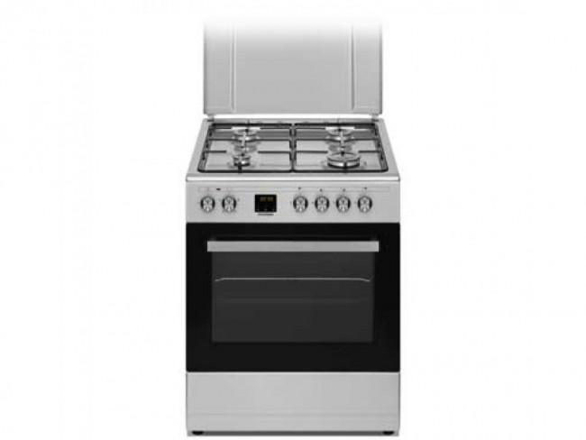 Hyundai cocina hyundai 4 zonas de coccion encimera y horno for Cocina de butano sin horno