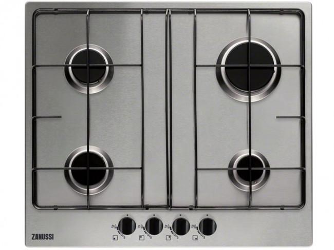 Zanussi placa de cocina zanussi zgg65414xa gas natural - Placa cocina gas natural ...