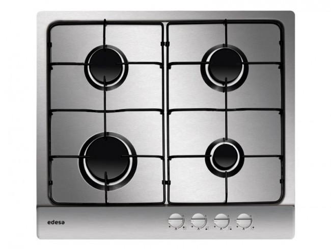 Edesa placa de cocina edesa urban i4gsxa gas natural 58cm - Placa cocina gas natural ...