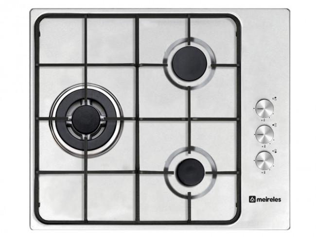 Meireles placa de cocina meireles mg3630x gas natural 60cm - Placa cocina gas natural ...