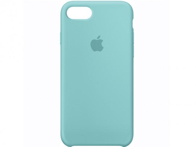 excepcional gama de colores más popular color rápido FUNDA SILICONA IPHONE 7 MMX02ZM/A AZUL MARINO APPLE