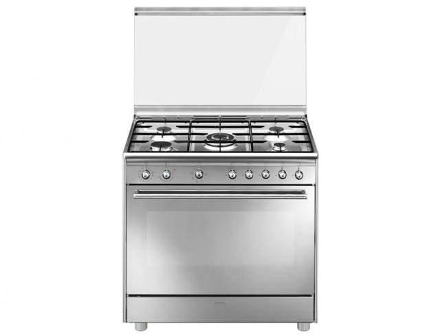 Smeg cocina smeg 5 quemadores encimera a gas natural y - Placa cocina gas natural ...