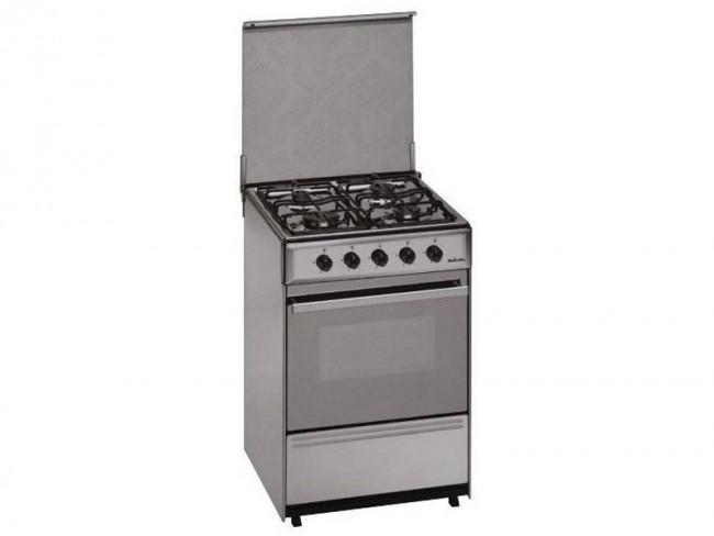 Meireles cocina meireles 4 quemadores encimera y horno a gas butano g 2540 v x acero inoxidable - Limpiar quemadores cocina gas ...