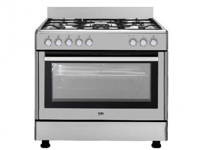 Beko cocina beko 5 quemadores encimera a gas butano y for Cocinas con horno de gas butano baratas