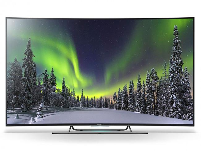 b046eb9a91305 SONY SMART TV LED ULTRA HD 4K 3D CURVO 55