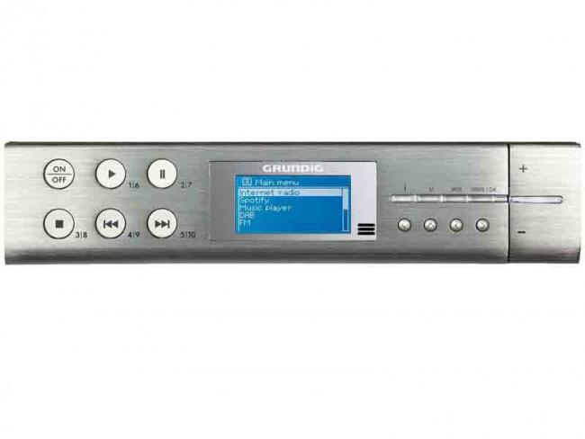 GRUNDIG SONOCLOCK 895 WEB DAB+ GRUNDIG Plateado - Radios ...