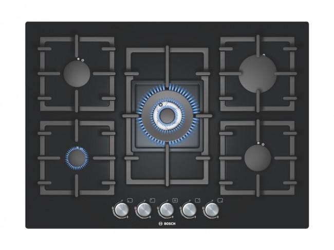 Bosch placa de cocina bosch ppq716b91e gas natural 70cm 5 - Placa cocina gas natural ...