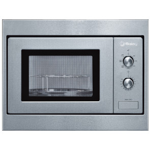 MICROONDAS INTEGRABLE BALAY 17L 800W ACERO CON GRILL 3WGX1953