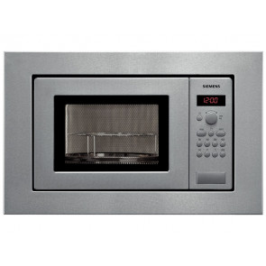 MICROONDAS INTEGRABLE SIEMENS 17L 1000W ACERO CON GRILL HF15G561
