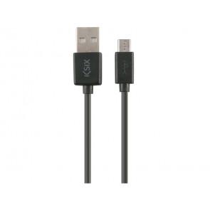 CABLE DATOS Y CARGA USB A MICRO USB 1M BXCUSB01 KSIX