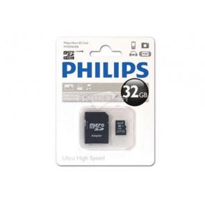 MICRO SD 32GB + ADAPTADOR FM32MP45B/10 PHILIPS