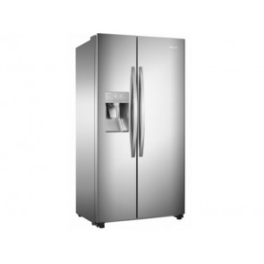 FRIGORIFICO HISENSE SIDE BY SIDE NO FROST A++ RS695N4IS2 INOX