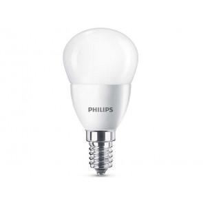 BOMBILLA LED ESFERICA E14 5.5W (40W) LUZ BLANCA CALIDA PHILIPS