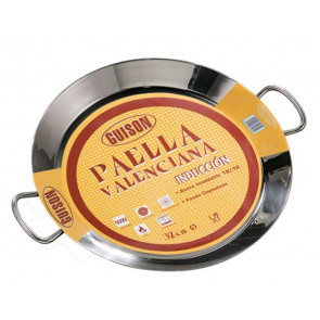 PAELLERA 40CM INOX GUISON