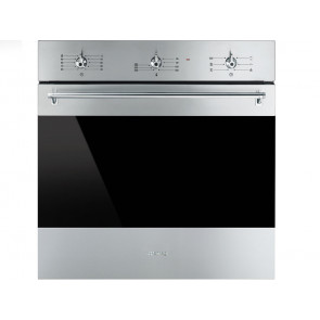 HORNO MULTIFUNCION ESMALTE EVER CLEAN A SMEG SF6381X