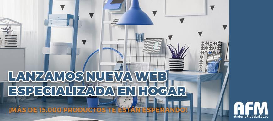 Lanzamos nueva web especializada en Hogar