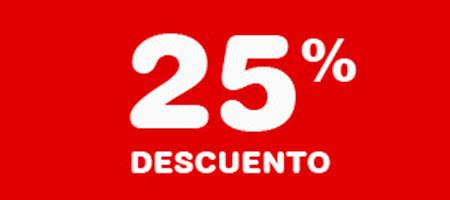 -25% Descuento